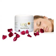 Serie olá natur: crema de noche, proporciona una agradable sensación de bienestar durante el sueño.