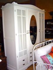 Armario decco 3 puertas color blanco toscana