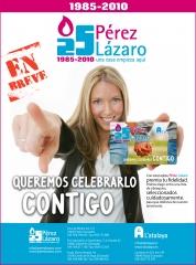 25 aniversario del Grupo P�rez L�zaro