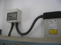 Condensador abb 12 kvar. a 440 v.