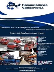 Desguaces: recambios usados y repuestos nuevos de coches y automoviles. desguaces en madrid, barcelona, valencia, ...