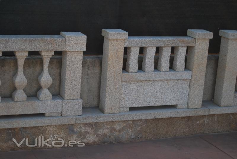 Granitos porrisal s l for Balaustres granada