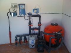 equipo de cloracion salina