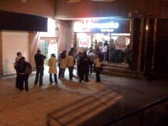 fast-food en dia de oferta a 3EUR la pizza 22/02/2010