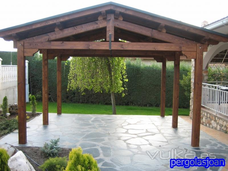 Pergolasjoan for Crear una cubierta de madera