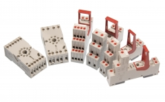 Bases de conexi�n de la serie electromec�nica est�ndar de relequick