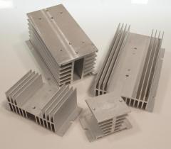 Radiadores disponibles para la serie de relés de estado sólido