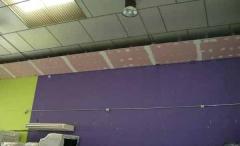 Estructuta de franja de sectorización completa a falta de pintura rf 60