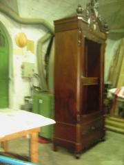 Armario ropero restaurado por nuestra empresa