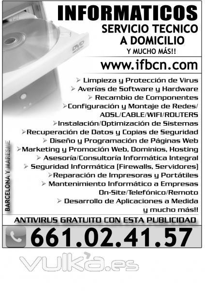 Foto de inform ticos freelance de barcelona reparaci n de for Reparacion de portatiles en barcelona