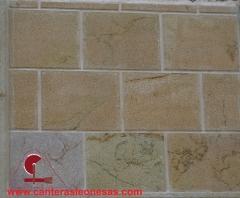 Piedra arenisca abujardada canteras leonesas (leon)