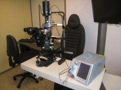 L�ser vitra incorporado a biomicroscopio haag-streit