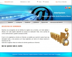Intersystem: registro de dominios