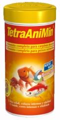 Tetra animín bote 250 ml.  alimento en escamas con fórmula bioactive® para todos los carpines dorados y otros ...