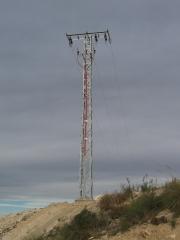 Torre aereo subterraneo fin de linea.