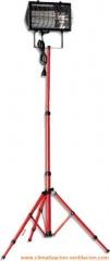 Calefactor el�ctrico infrarrojo 1,3kw con pie telesc�pico