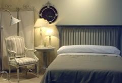 Ambiente dormitorio bali color gris sumi. disponible en varias medidas y colores.
