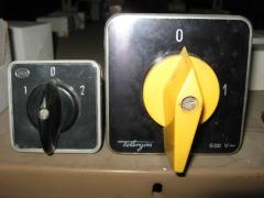 Interruptores de paquete ega y telergon antiguos.
