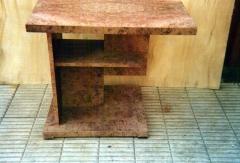 Mesa art-decó