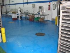 Pavimento industrial alimentario