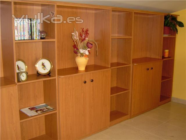 divisiones en madera para salas y comedores foto mueble divisi n sala en melamina cerezo