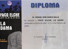 Diploma congreso faco elche 2.006