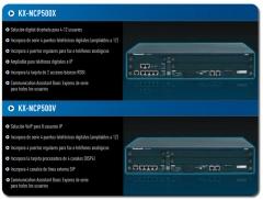 Nuevas plataformas de comunicaciones de Panasonic, para hasta 12 usuarios o mas de 64 Ip , desde 800 EUR