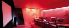Nueva sala de cine, proyecto llave en mano. Marcas: Linn, Lutron, Crestron, La-z-boy