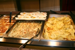 Buffet libre en restaurante ib�ricos