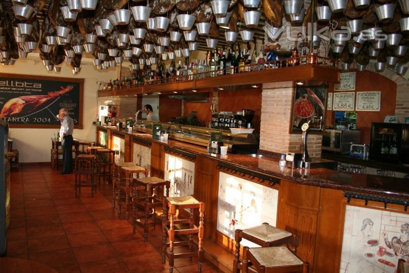 Foto Barra De Restaurante Ib Ricos En Avda Mare Nostrum