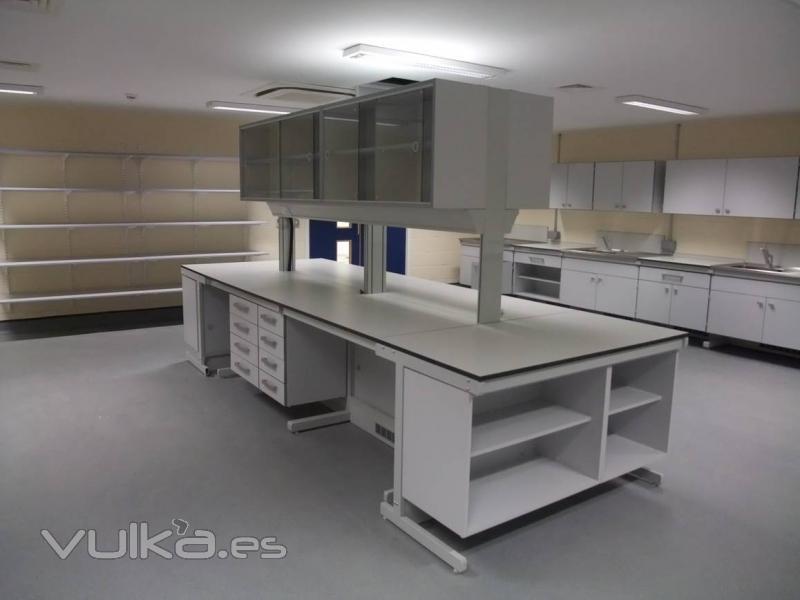 Vulka Muebles : Romero muebles de laboratorio