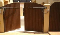 Automatismos y Accesorios : Equipo electromecánico BAT-AU para  automatización de puertas abatibles  de dos hojas ...