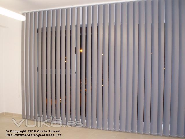 Foto cortinas verticales opacas - Cortinas verticales online ...