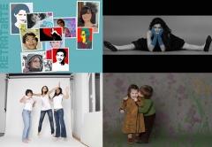 Sesiones de fotograf�as para familias, ilustraciones a partir de fotos, el mejor regalo para el d�a del padre.