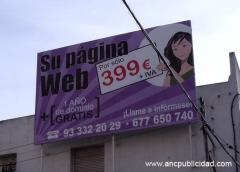 Instalaci�n de valla publicitaria