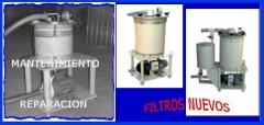 Reparacion y recambios filtros galvanicos