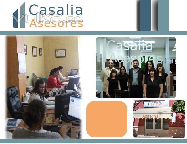 Casalia Asesores. Asesoría Fiscal, Contable, Laboral y Jurídica.