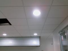 Falso techo registrable,cocina