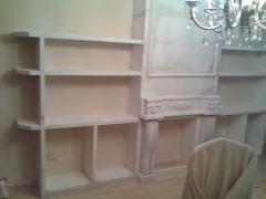 Mueble escayola para salon (hay clientes que les encantan)