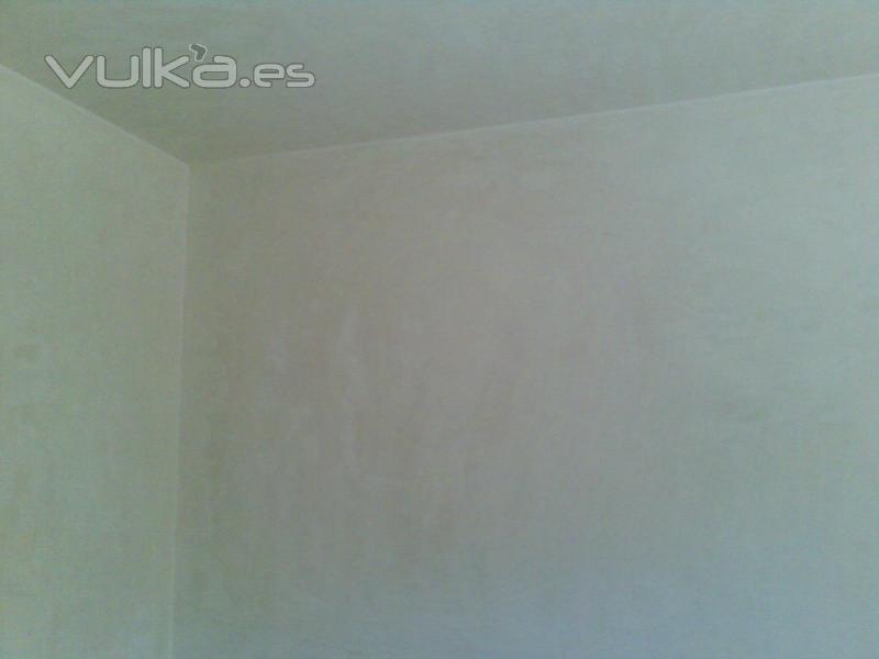 Foto enlucido de techos y paredes con perlita for Plafones de techo y pared