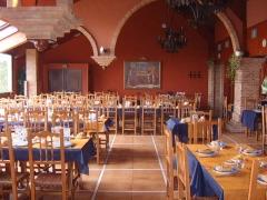 Montaje de banquete (detalle central)