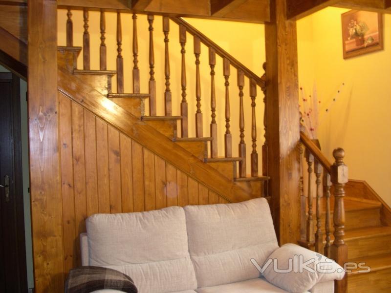 Muebles Cocina Modernos : Foto acojedora escalera para casa de campo