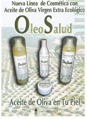 L�nea de Cosm�ticos con Aceite de Oliva Ecol�gico OLEOSALUD