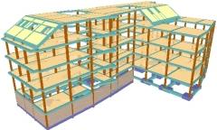 Estructura vivienda multifamiliar