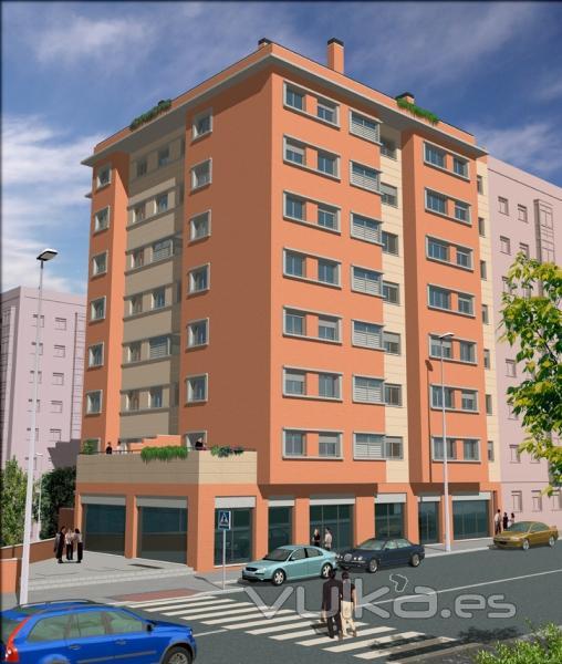 Foto residencial grecia edificio de viviendas en fuenlabrada madrid lg arquitectos - Arquitectos interioristas madrid ...