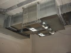 Instalacion de extraccion garaje