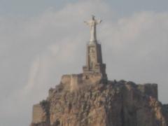 Castillo de monteagudo muy proximo a mahessa.