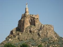 Conjunto cercano del castillo de monteagudo.