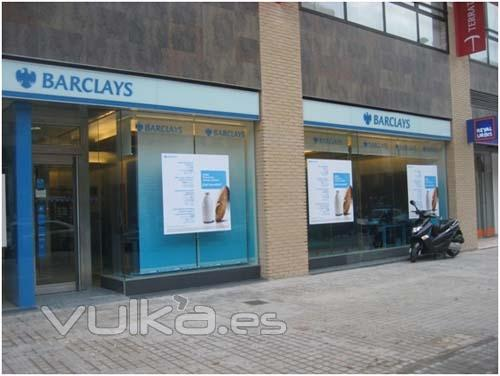 Bojuna for Barclays oficinas madrid