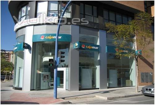 Foto realizaci n de oficinas para cajamar en comunidad for Cajamar valencia oficinas